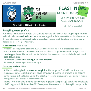 Calcio Flash News n 4